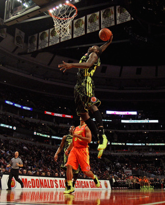 Archie Goodwin put in 14 points in the McDonald's All-American Game.