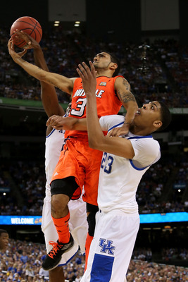 Peyton Siva nearly took down Anthony Davis and Kentucky.