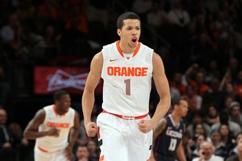 Michael Carter-Williams is a dead-eye out of Syracuse.