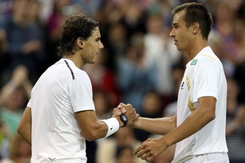 Lukas Rosol defeated No. 2 Rafael Nadal in the second round of Wimbledon 2012.