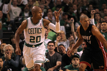 Ray Allen could join Shane Battier in Miami.