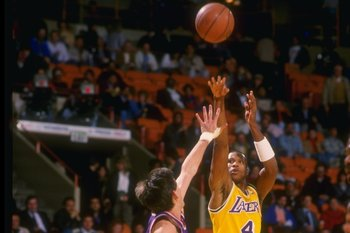 Byron Scott over Jeff Hornacek in 1987.