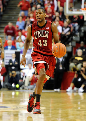 Mike Moser could see his stock soar if UNLV is as good as advertised.
