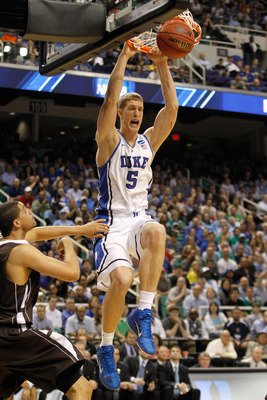 Mason Plumlee returns as a senior for the Blue Devils.