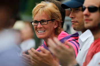 Powerful maternal force - Judy Murray