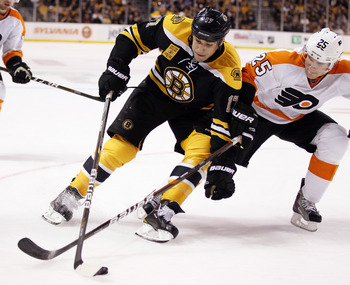 Similar physical styles make all Flyers-Bruins meetings worth the price of admission.