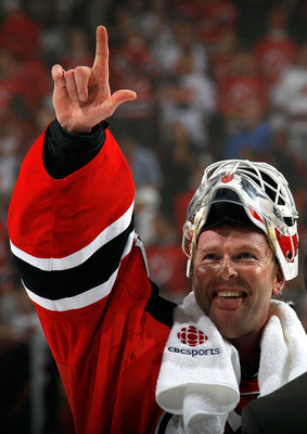 Seemingly always smiling, Martin Brodeur should be smiling after he inked a deal with the New Jersey Devils.