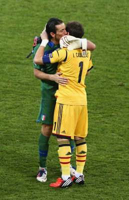 Buffon and Casillas