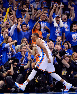 The Oklahoma City Thunder may have the greatest home court advantage in professional sports.