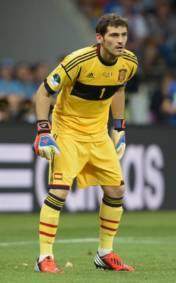 Keeper Iker Casillas