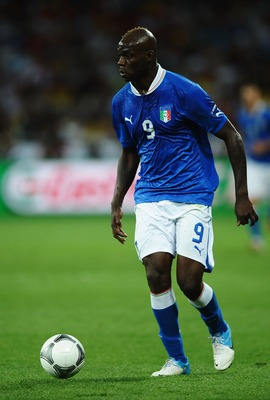 Forward Mario Balotelli