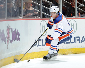 Former No. 1 pick Taylor Hall could come into his own in 2012-13.