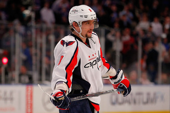 While Alex Ovechkin may no longer be the dynamo he was in his early years, he is still a huge factor for the Capitals.