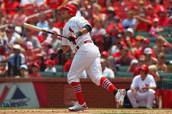 Yadier Molina may match his season high in home runs by the All-Star break.