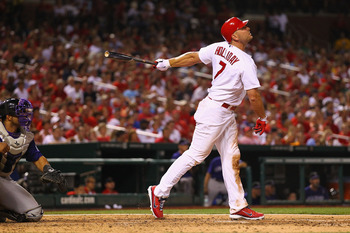 Matt Holliday may be one of the best FA signings in Cardinal history.