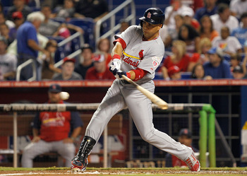The Cardinals are getting a vintage Beltran performance.