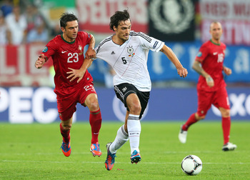 Hummels shined at Euro 2012.