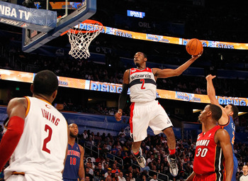 John Wall Elevates in the Rising Stars Challenge