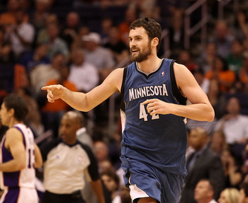 All-Star Forward Kevin Love Rocking the Beard