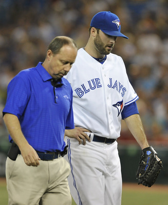 Brandon Morrow is just one of several starting pitchers the Blue Jays have had to place on the DL.