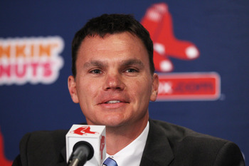 Red Sox GM Ben Cherington.