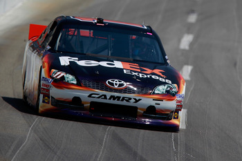 Denny Hamlin rebounded from two DNFs to finish third at Kentucky