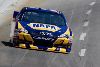 Martin Truex Jr. rebounded from a rough Sonoma to finish eighth