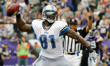 Detroit's Calvin Johnson (96 catches, 1,681 yards, 16 TDs) crossed the elite threshold of six catches, 100 yards and/or one touchdown 14 times last season—tops among NFL receivers.