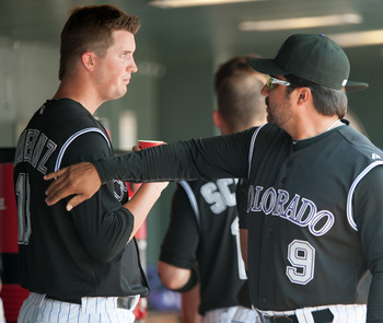 Drew Pomeranz was solid in his return to the Rox on Saturday