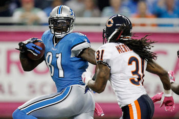 Detroit Lions WR Calvin Johnson was the No. 3 overall pick in this draft