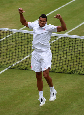 The formidable Jo-Wilfried Tsonga