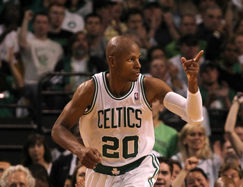 If Boston loses Ray Allen in free agency, the loss won't be felt as severely.