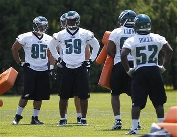 The Philadelphia Eagles are looking at Mychal Kendricks and DeMeco Ryans to fix their linebacker woes.
