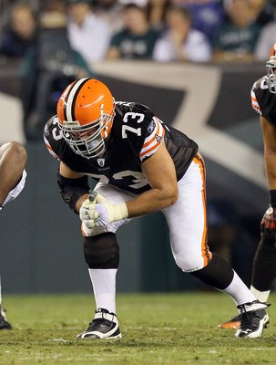Browns LT stalwart Joe Thomas.