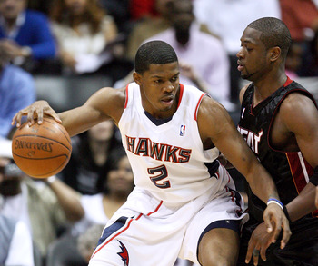Joe Johnson and Dwyane Wade are both shooting guards, but one does a lot more than just shoot.