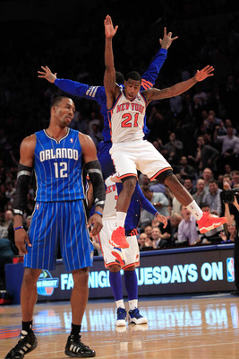 Watch out, New York. Dwight Howard could be out for in-city revenge.