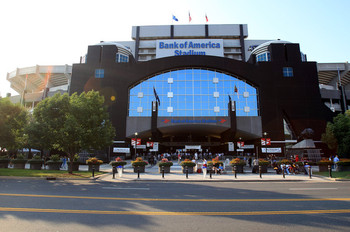 Home of the Carolina Panthers.  (August 31, 2011 - Source: Streeter Lecka/Getty Images North America)