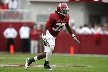 With Mark Barron off to the NFL, Alabama safety Robert Lester will be counted on to be the Tide's leader and playmaker in the secondary this fall.