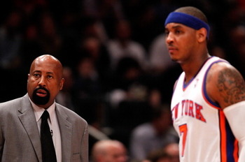 Woodson and Carmelo aren't a perfect match, but it's a pairing that can work.