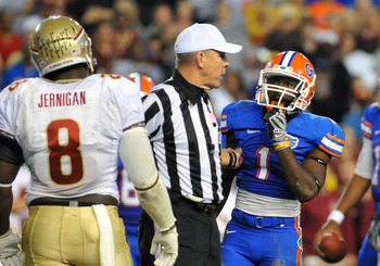 The FSU-UF rivalry ensues in late November.