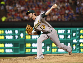 The Braves could potentially use a left-hander like Jerry Blevins in the bullpen.