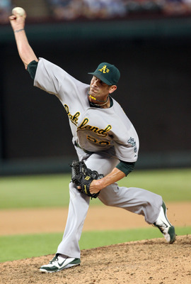 The A's are likely to deal Grant Balfour.