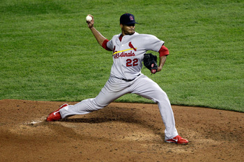 Edwin Jackson worked out as a rental for the Cardinals in 2011, but chances are slim that's what they are after in 2012.