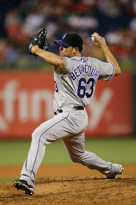 Rafael Betancourt has been strong throughout his career, even at Coors Field.