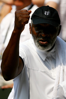 Controversial tennis parent - Richard Williams