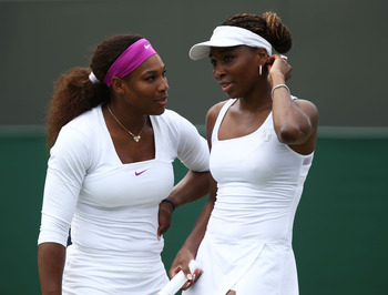 Venus and Serena - doubles champions