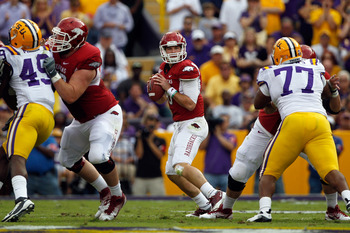 Wilson is the SEC's top quarterback, and could be in the mix to be the first pick of the 2013 NFL Draft.