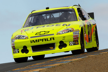 Paul Menard is always a threat on plate tracks