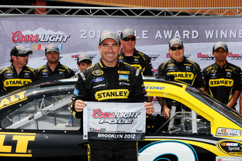 Marcos Ambrose has shown plenty of speed in 2012