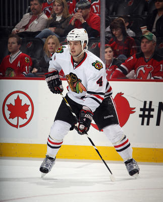 The Blackhawks are willing to move defenseman Niklas Hjalmarsson in the right trade.